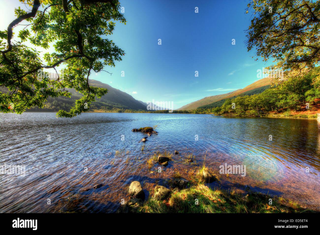 Loch Voil In The Loch Lomond And Trossachs National Park, Scotland Loch  Voil Canvas Loch Voil Canvases Loch Voil Prints Loch
