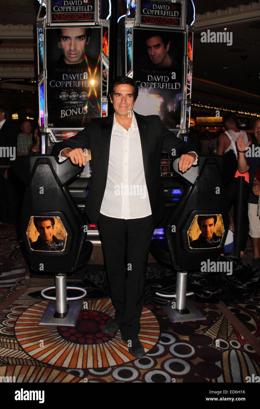 king of magic david copperfield unveils his signature slot  king of magic david copperfield unveils his signature slot machine the magic of david copperfield at the mgm grand in las vegas featuring david