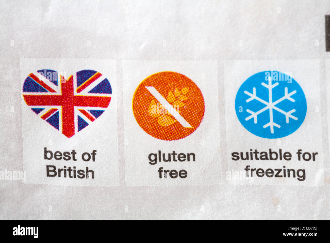 Best of british gluten free suitable for freezing symbols on food best of british gluten free suitable for freezing symbols on food packaging biocorpaavc Gallery
