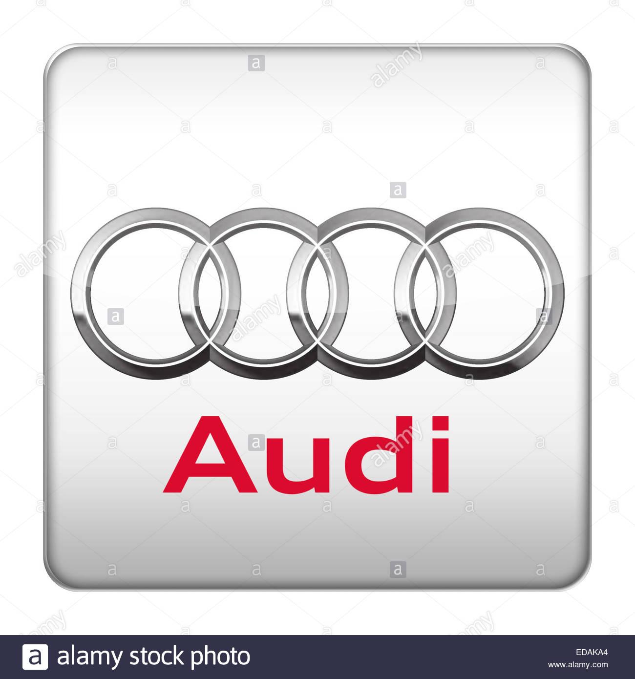 Audi logo icon Stock Photo, Royalty Free Image: 77066700 - Alamy