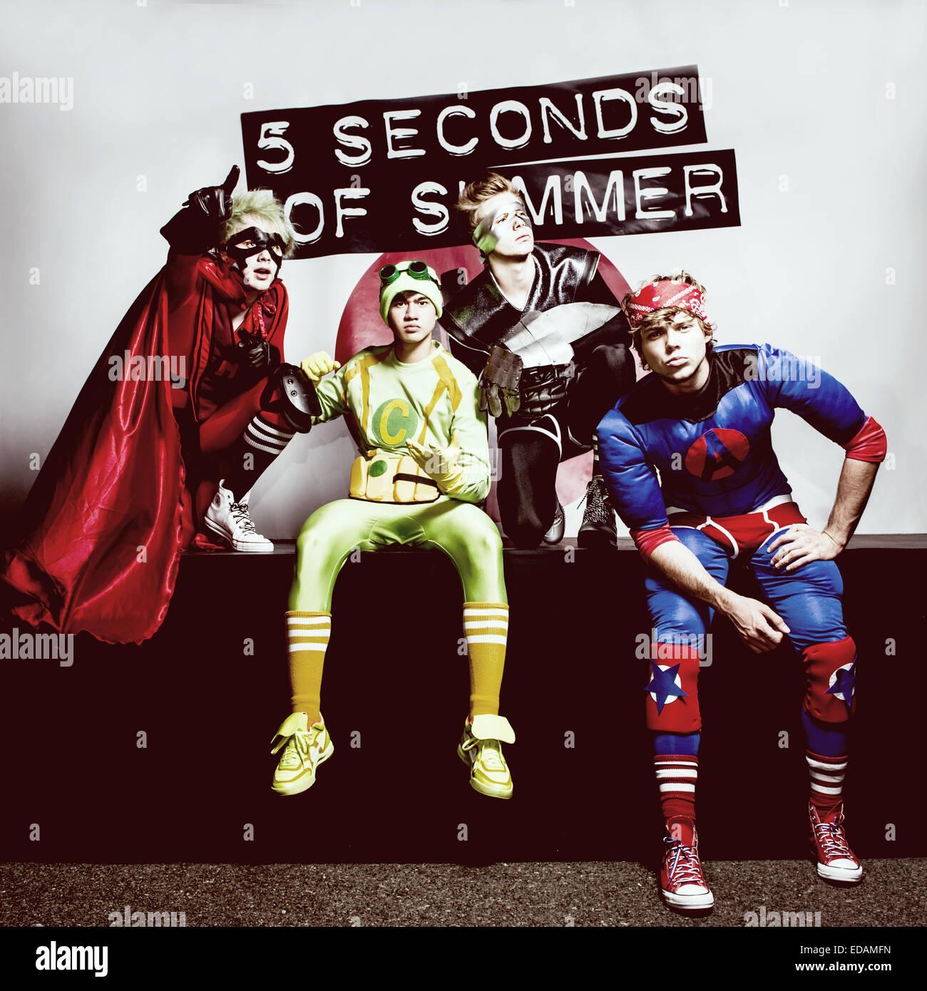 5sos poster design - Australian Boy Band 5 Seconds Of Summer Are Luke Hemmings Lead Vocals Guitar Michael Clifford Guitar Vocals Calum Hood Bass Guitar