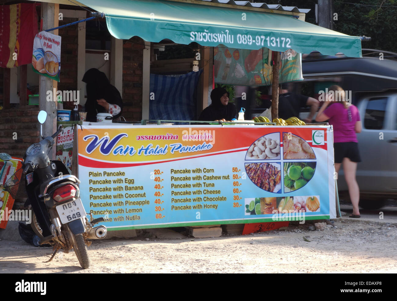 how to set up a street food stall