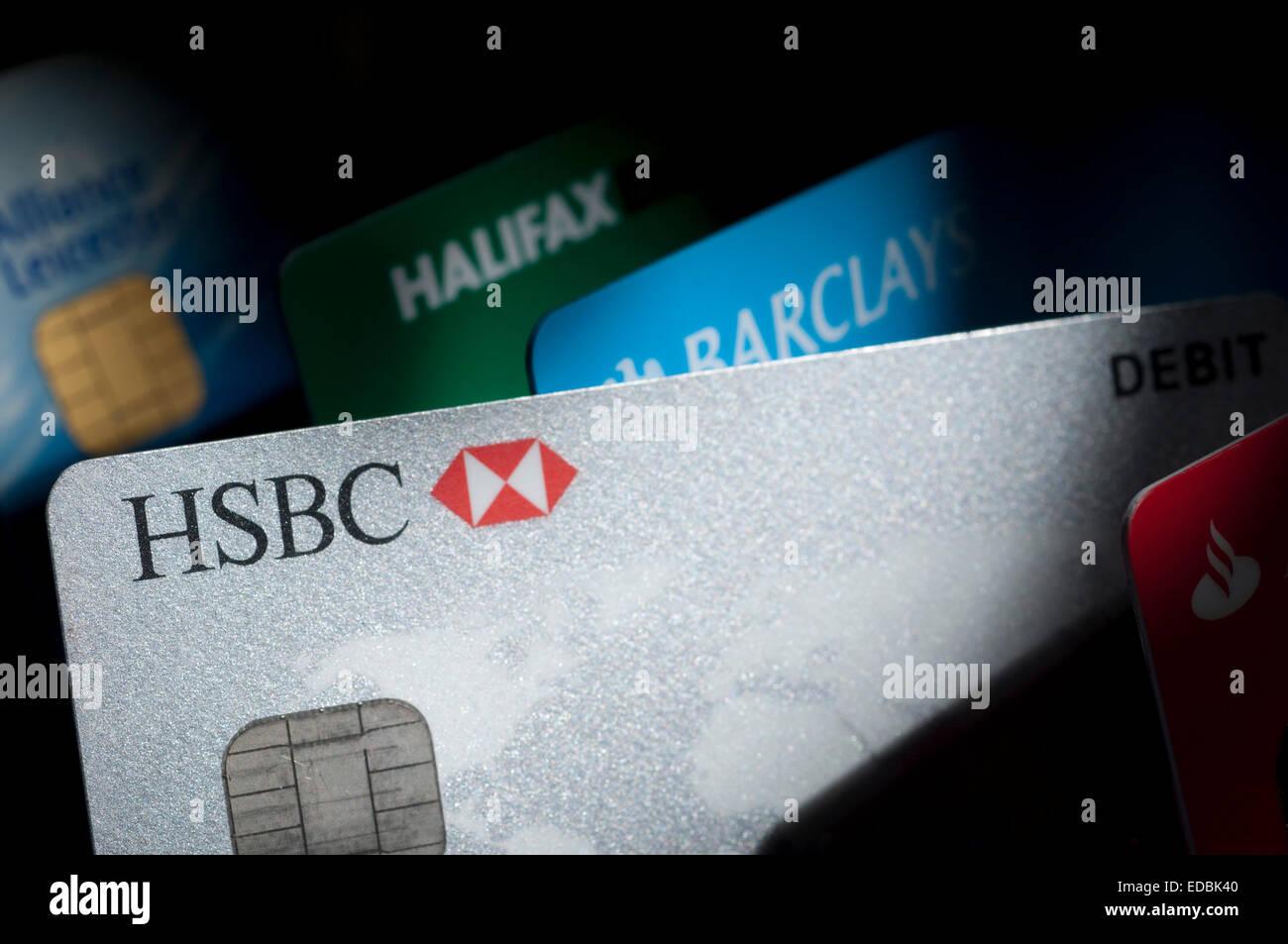 Bank Cards And Hsbc Stock Photos & Bank Cards And Hsbc Stock ...
