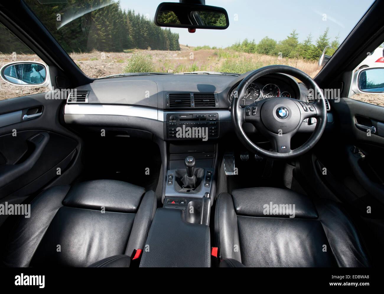 E D BMW Series Interior Stock Photo Royalty Free - Bmw 3 series interior