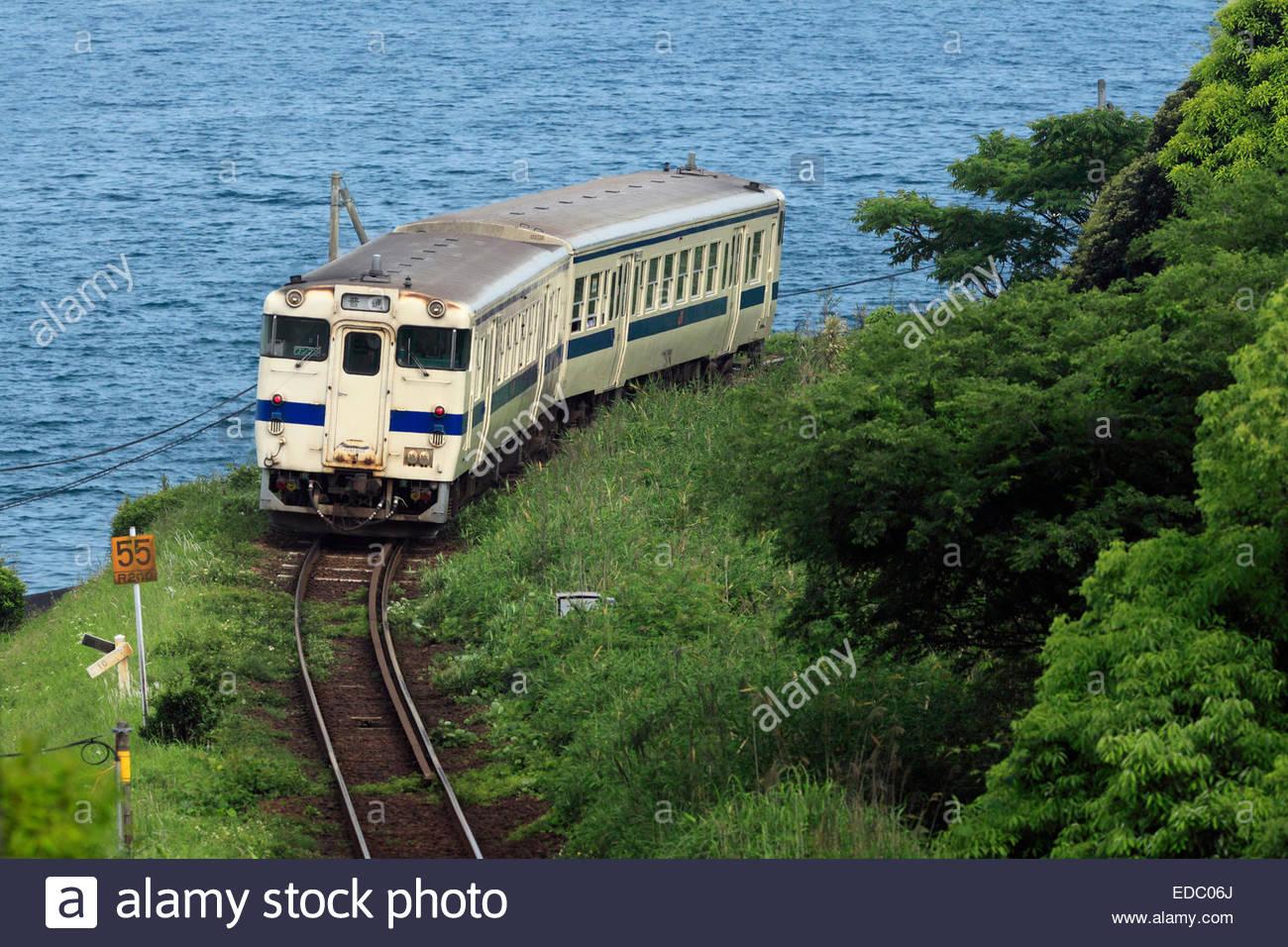 Ibusuki Makurazaki Line, Kagoshima, Japan Stock Photo, Royalty Free Image: 77...