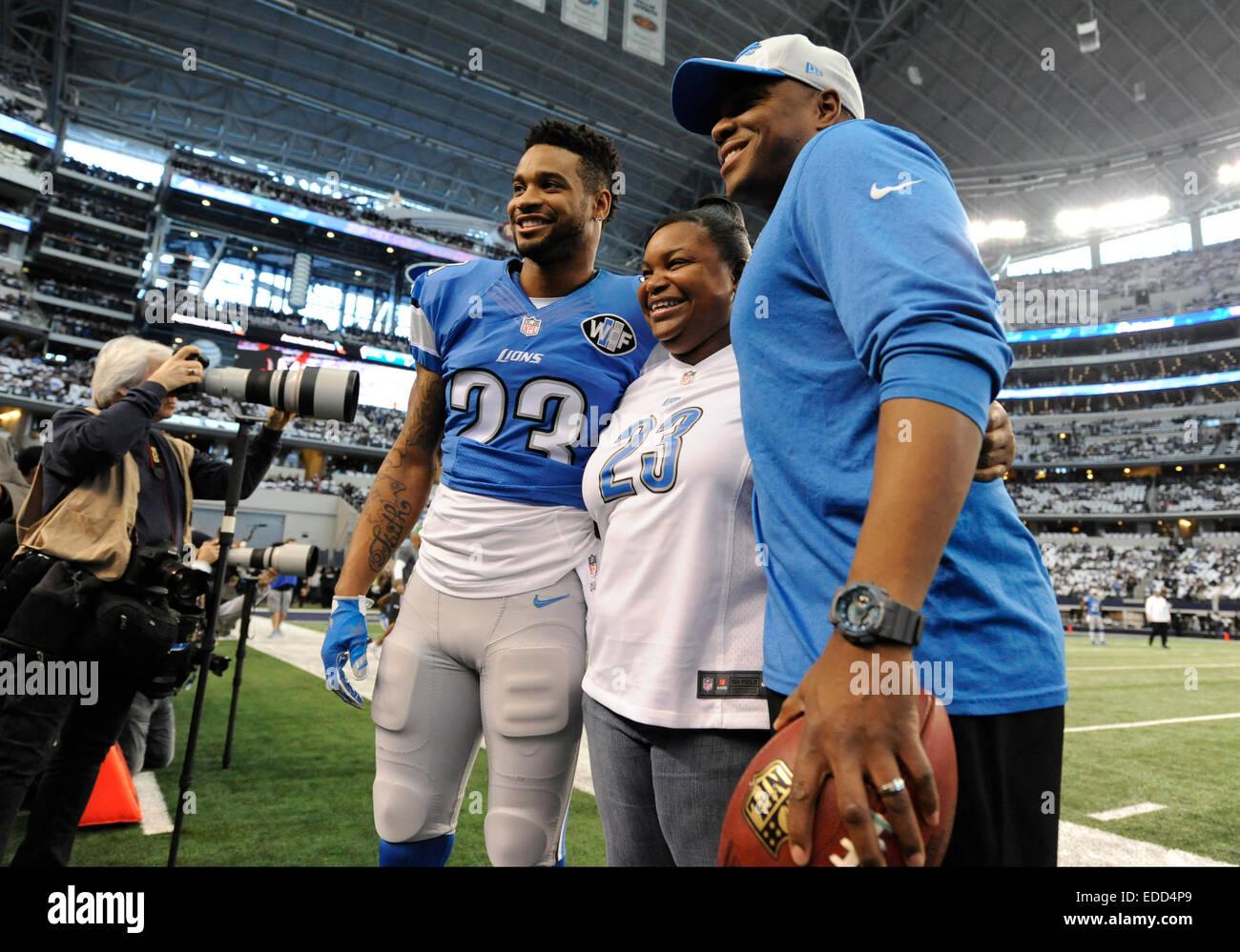 January 04 2015 Detroit Lions cornerback Darius Slay 23 poses