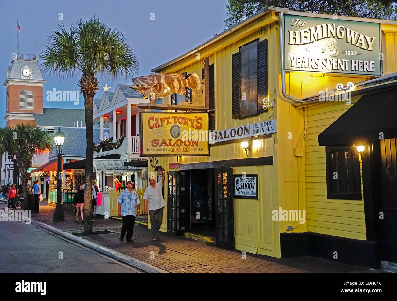 Ernest Hemingway 39 S Favorite Bar Original Sloppy Joe 39 S In