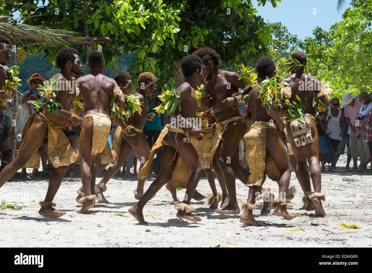 Indigenous People Santa Cruz Island South Pacific