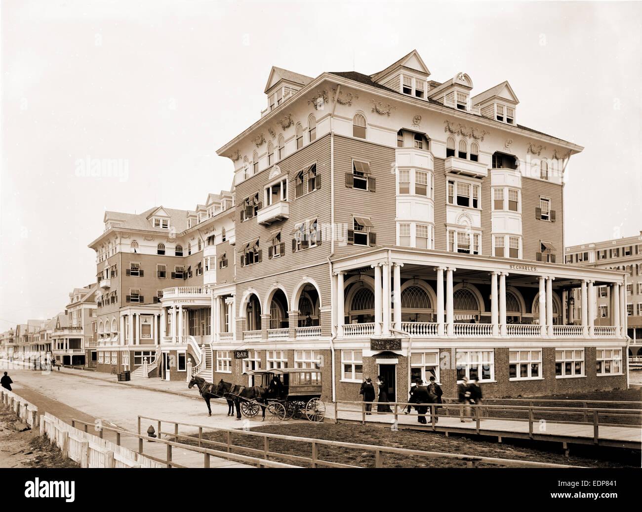 Hotel st charles atlantic city n j hotels united states new jersey atlantic city 1880