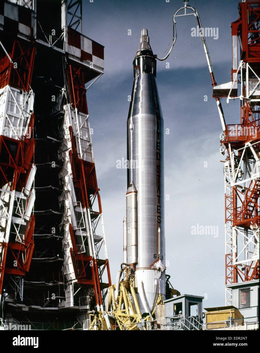 Mercury-Atlas 6 Mission Preparation - February 1962   NASA