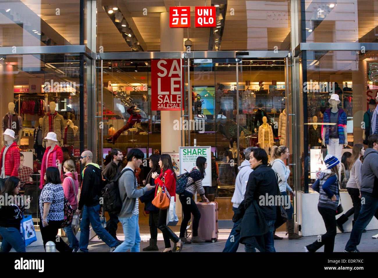 Clothing stores in california