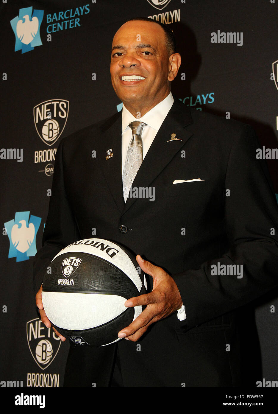 The Brooklyn Nets introduce their new head coach Lionel Hollins