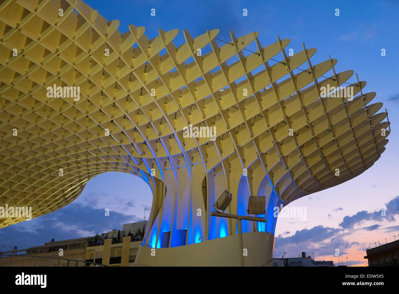 Seville spain the building known locally as 39 the mushroom Architecture connu