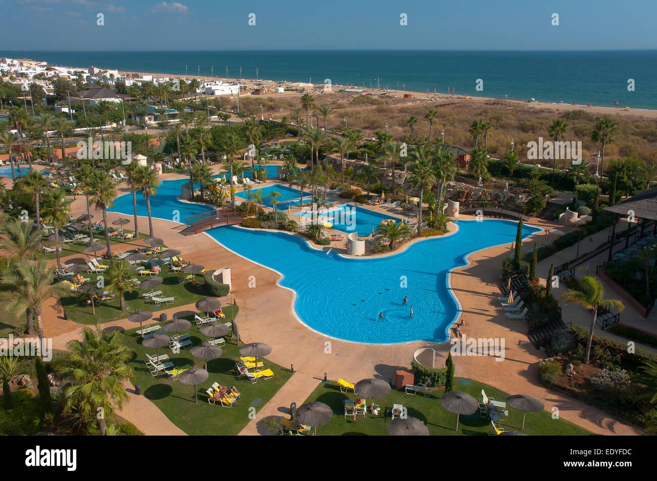 Islantilla beach and puerto antilla grand hotel lepe huelva stock photo royalty free image - Puerto antilla grand hotel ...