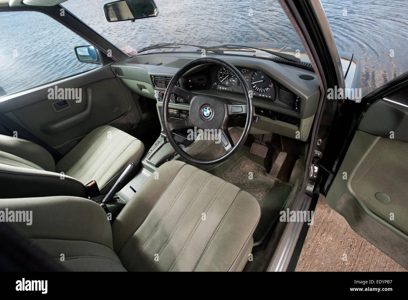 1984 e28 bmw 525i 5 series car interior stock photo royalty free 1984 e28 bmw 525i 5 series car interior sciox Choice Image