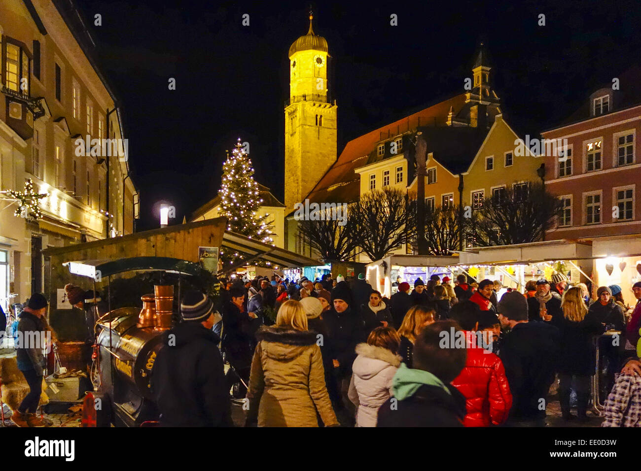 weihnachtsmarkt in weilheim oberbayern deutschland. Black Bedroom Furniture Sets. Home Design Ideas