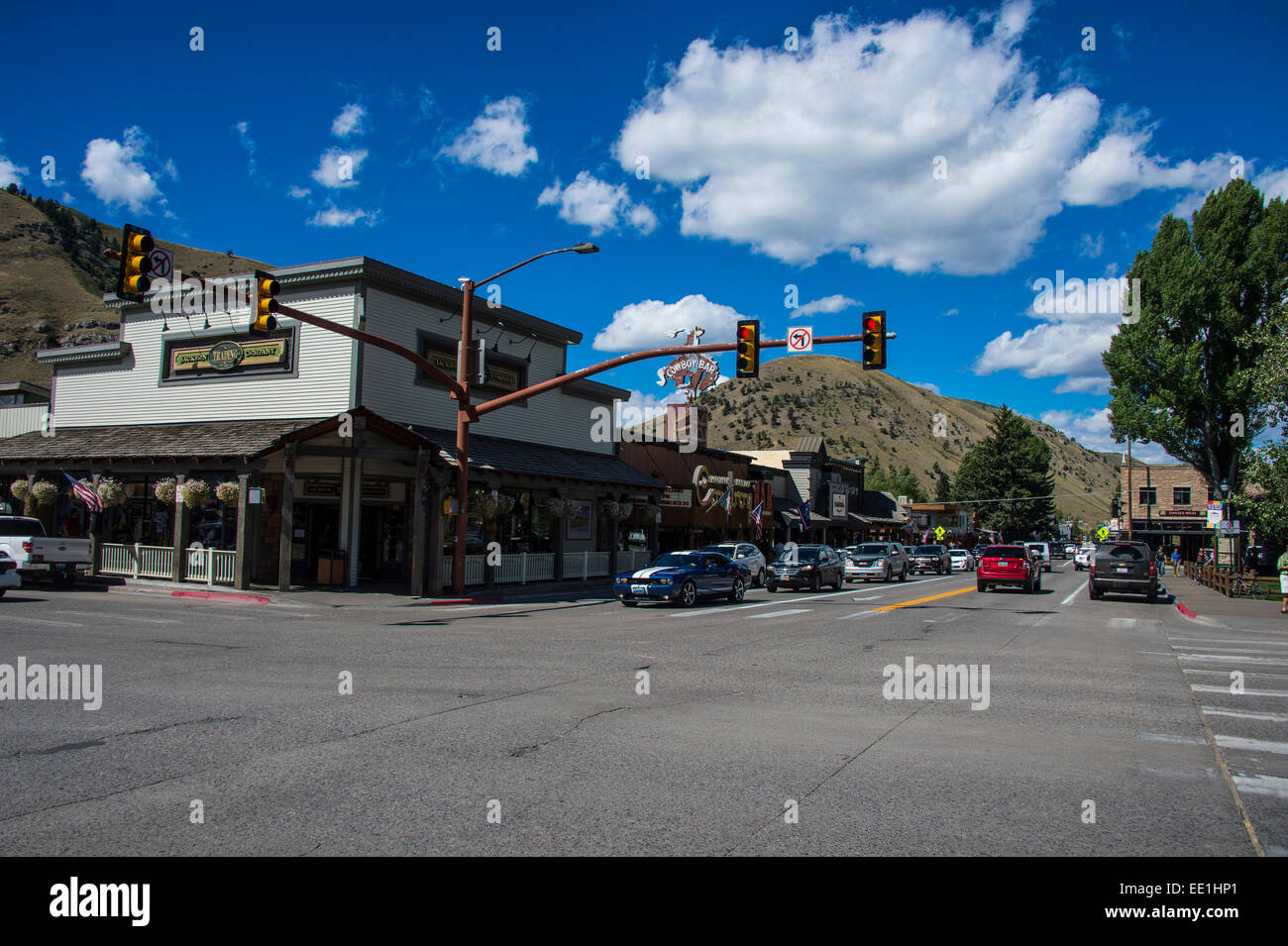 The town center of jackson hole wyoming united states of for Towns near jackson hole wyoming