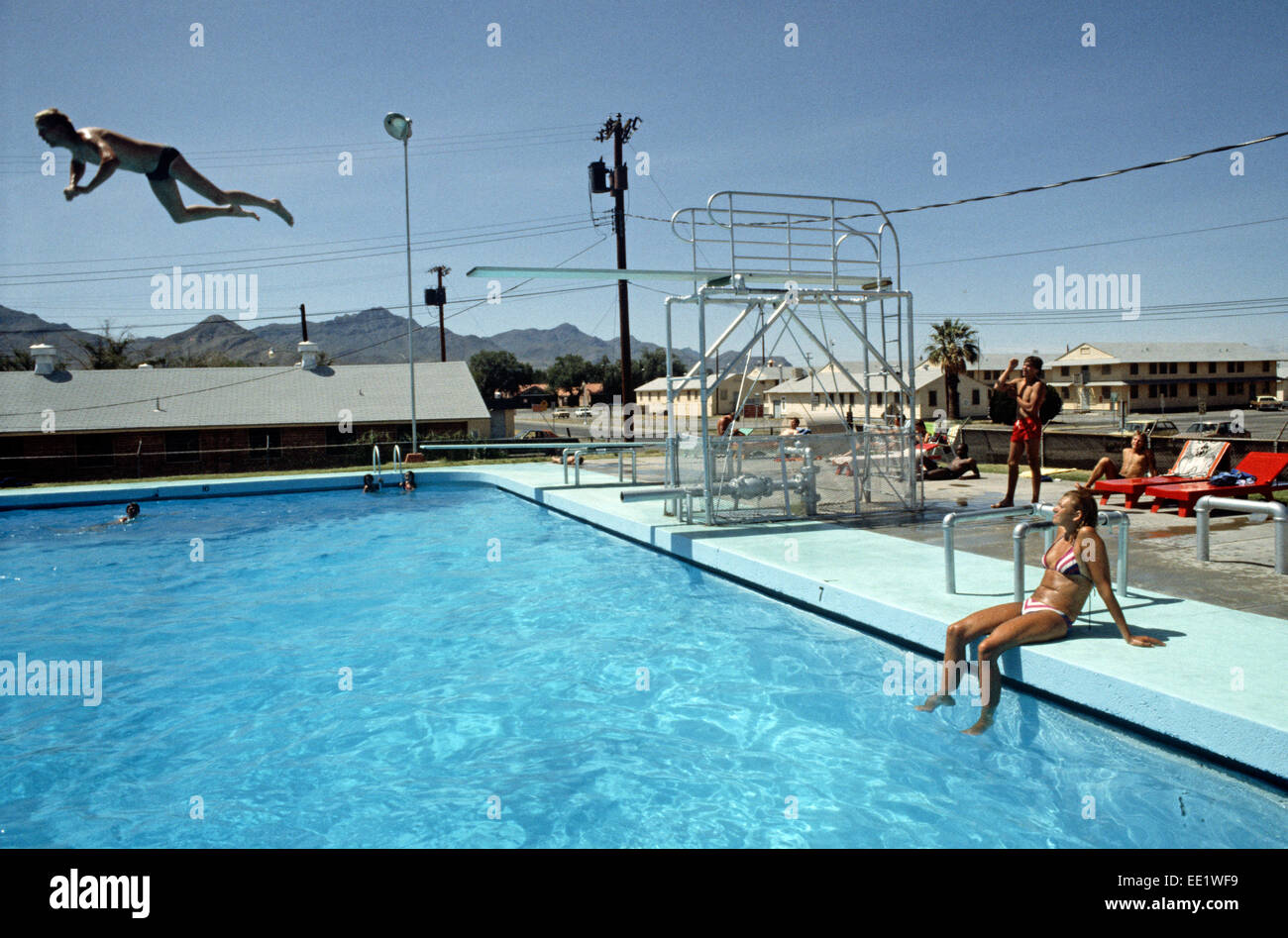 pershing swimming pool fort bliss united states army texas usa stock photo 77488637 alamy