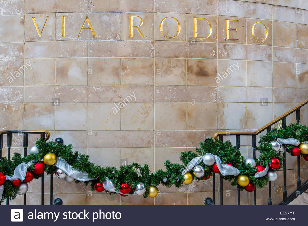 Christmas Decorations For The Wall Via Rodeo Wall Sign With Christmas Decorations In Rodeo Drive