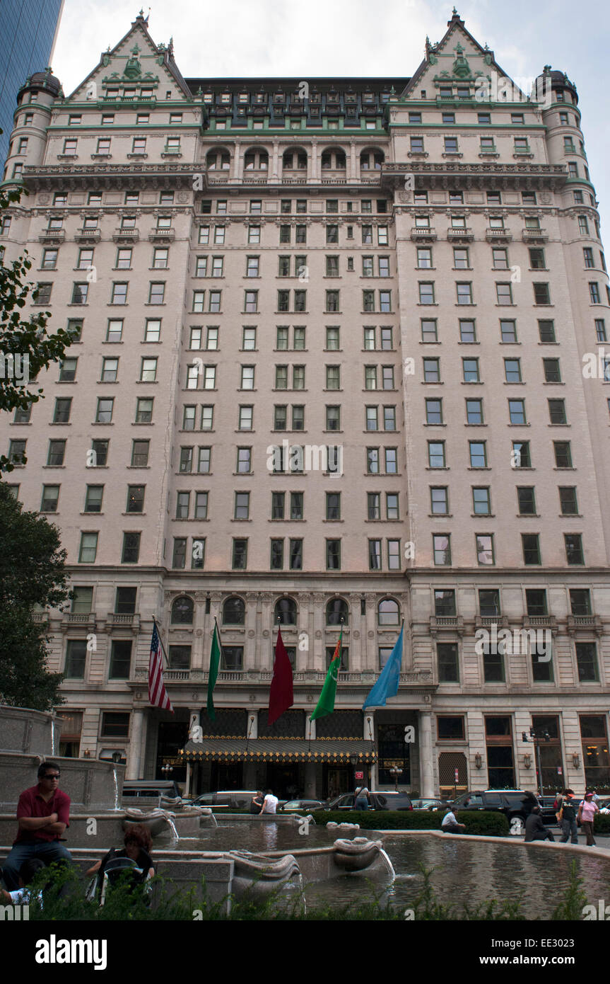 The plaza hotel new york usa the plaza hotel landmark 20 for Hotels near central park new york