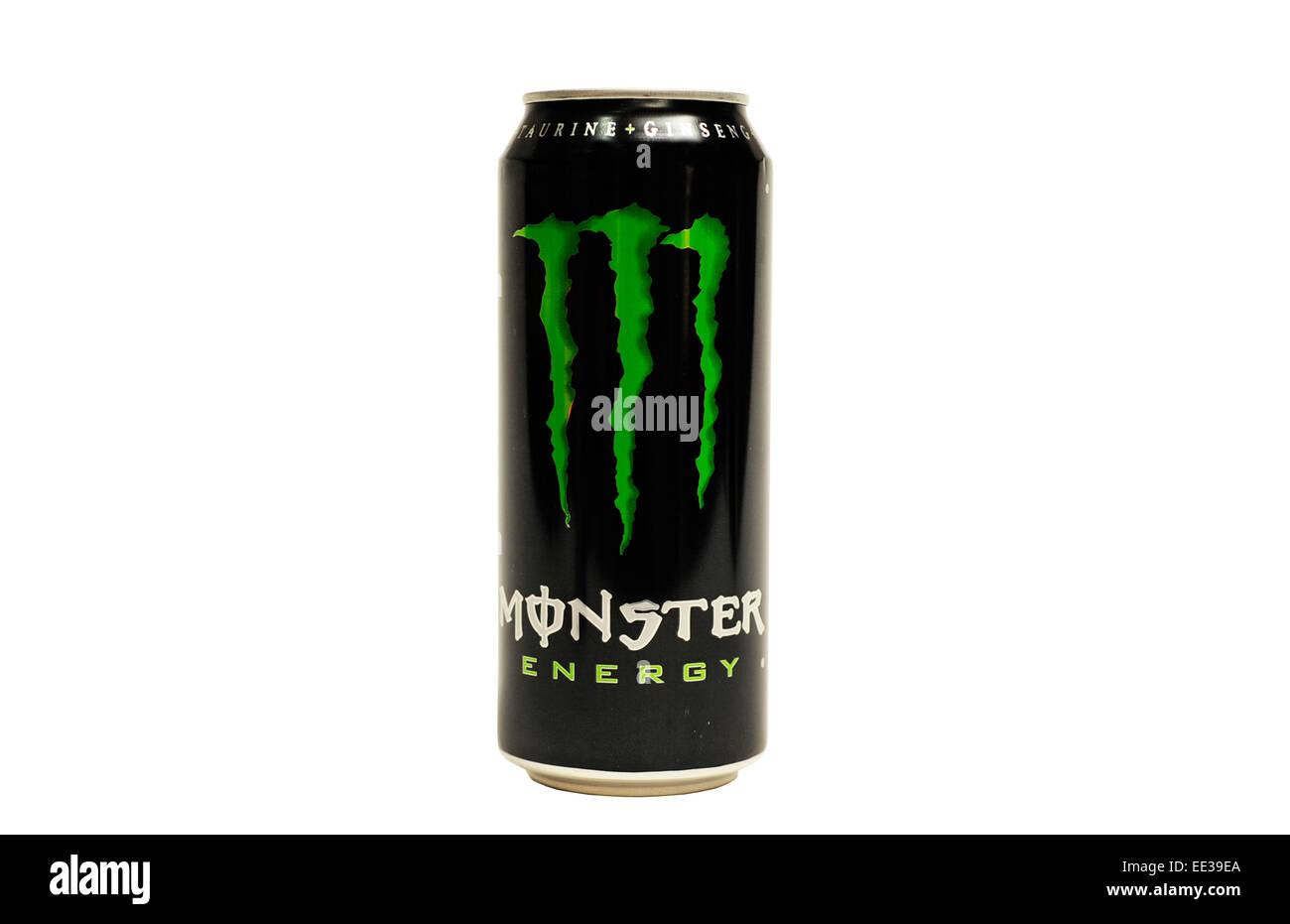 white monster energy drink ingredients