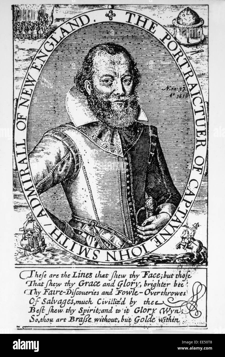 john smith 1580 1631 leader of the virginia colonists at jamestown