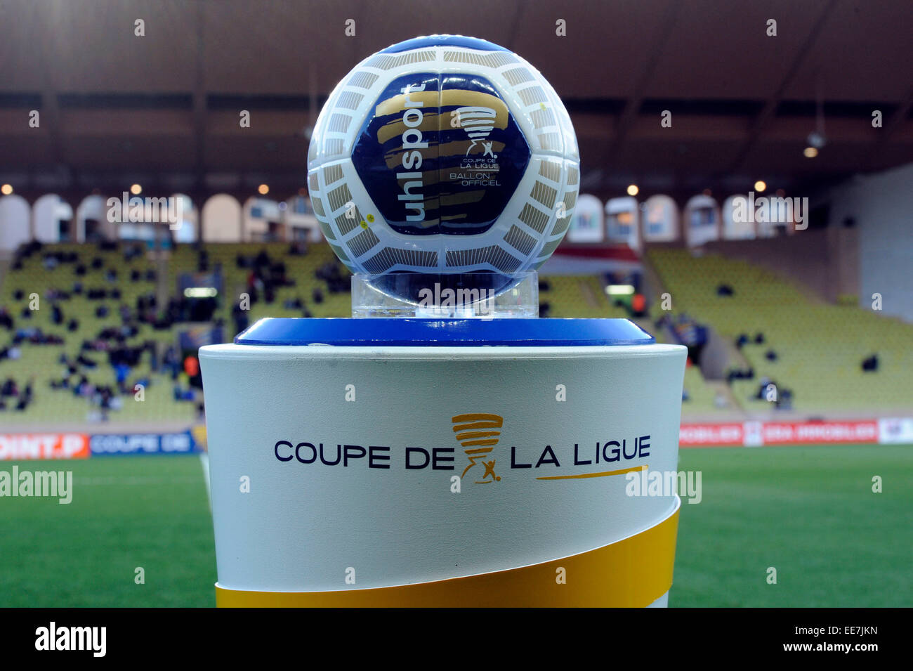 Monaco france 14th jan 2015 french league cup coupe de la ligue stock photo royalty free - Billetterie coupe de la ligue 2015 ...