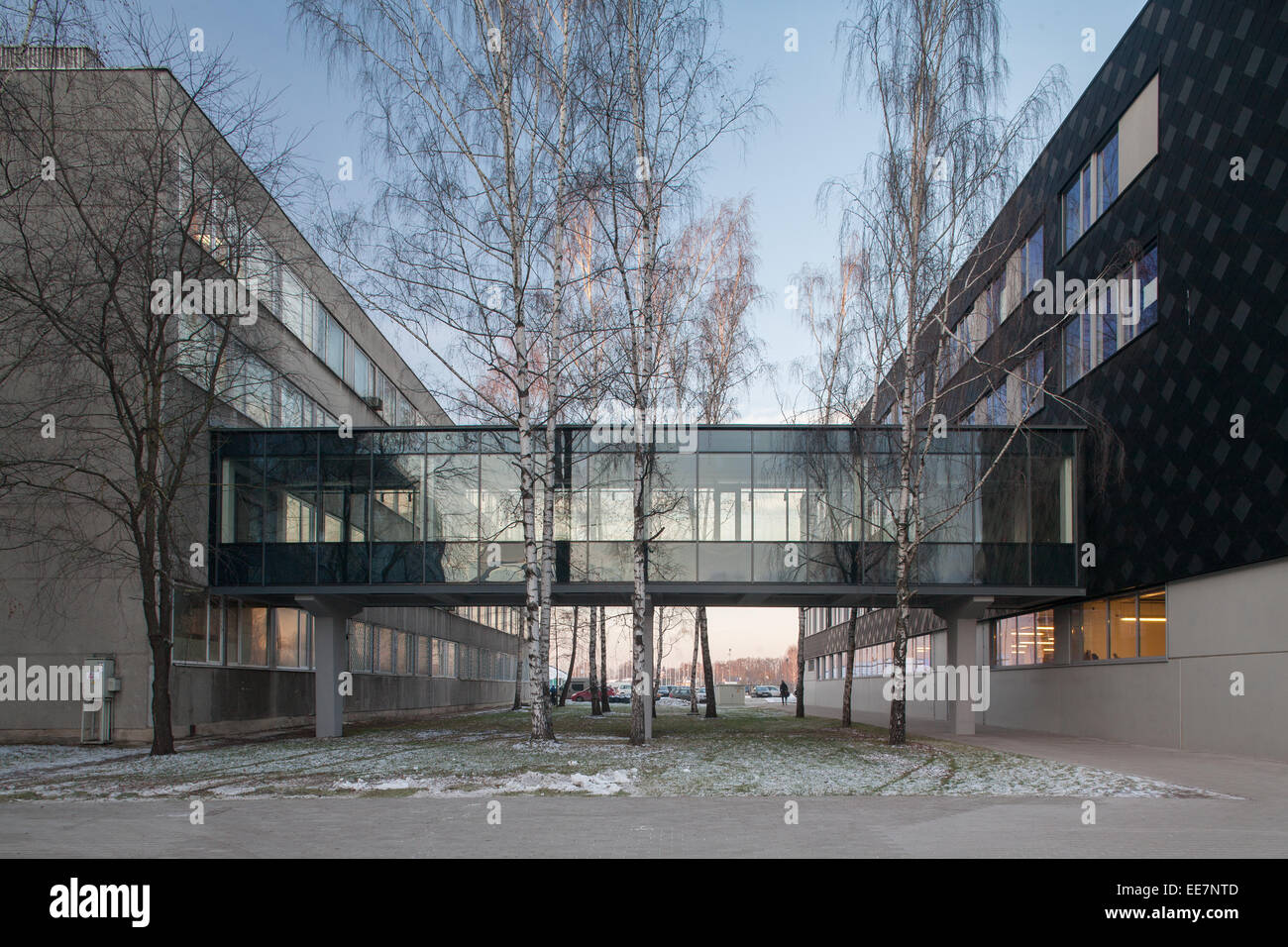 Design Center Of Riga Technical University. Architecture, Riga, Latvia