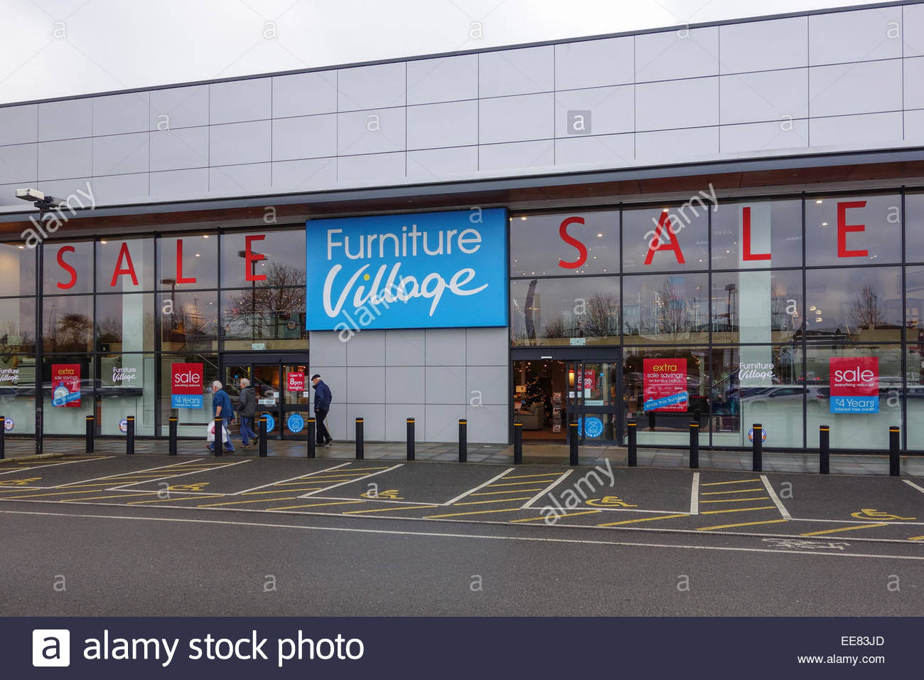 Furniture Village Aylesbury cambridge retail park stock photos & cambridge retail park stock