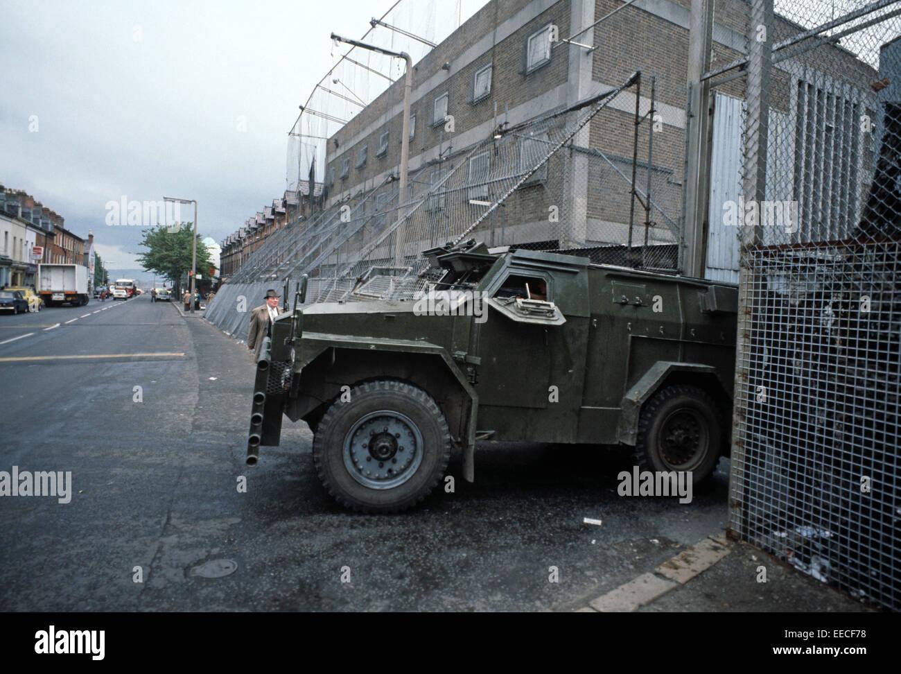 Belfast Northern Ireland September 1978 British Army
