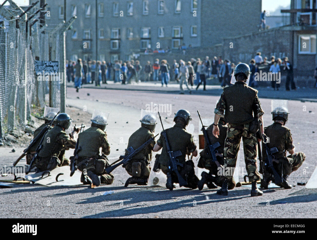 Derry / Londonderry United Kingdom  City new picture : Londonderry, Derry, United Kingdom August 1975. British Army Stock ...