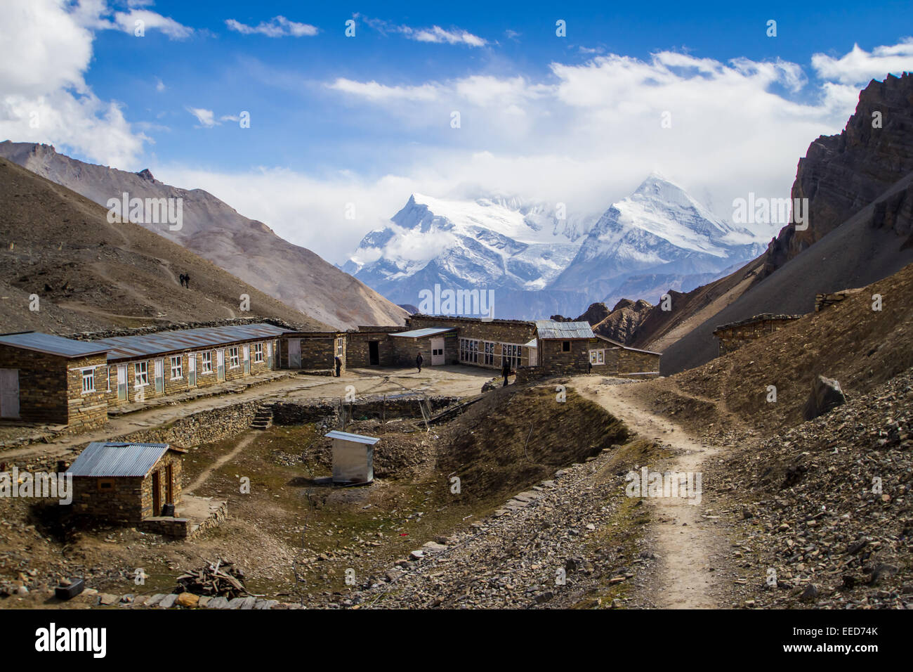 This Is High Camp On The Annapurna Circuit At An Altitude Of - Altitude here