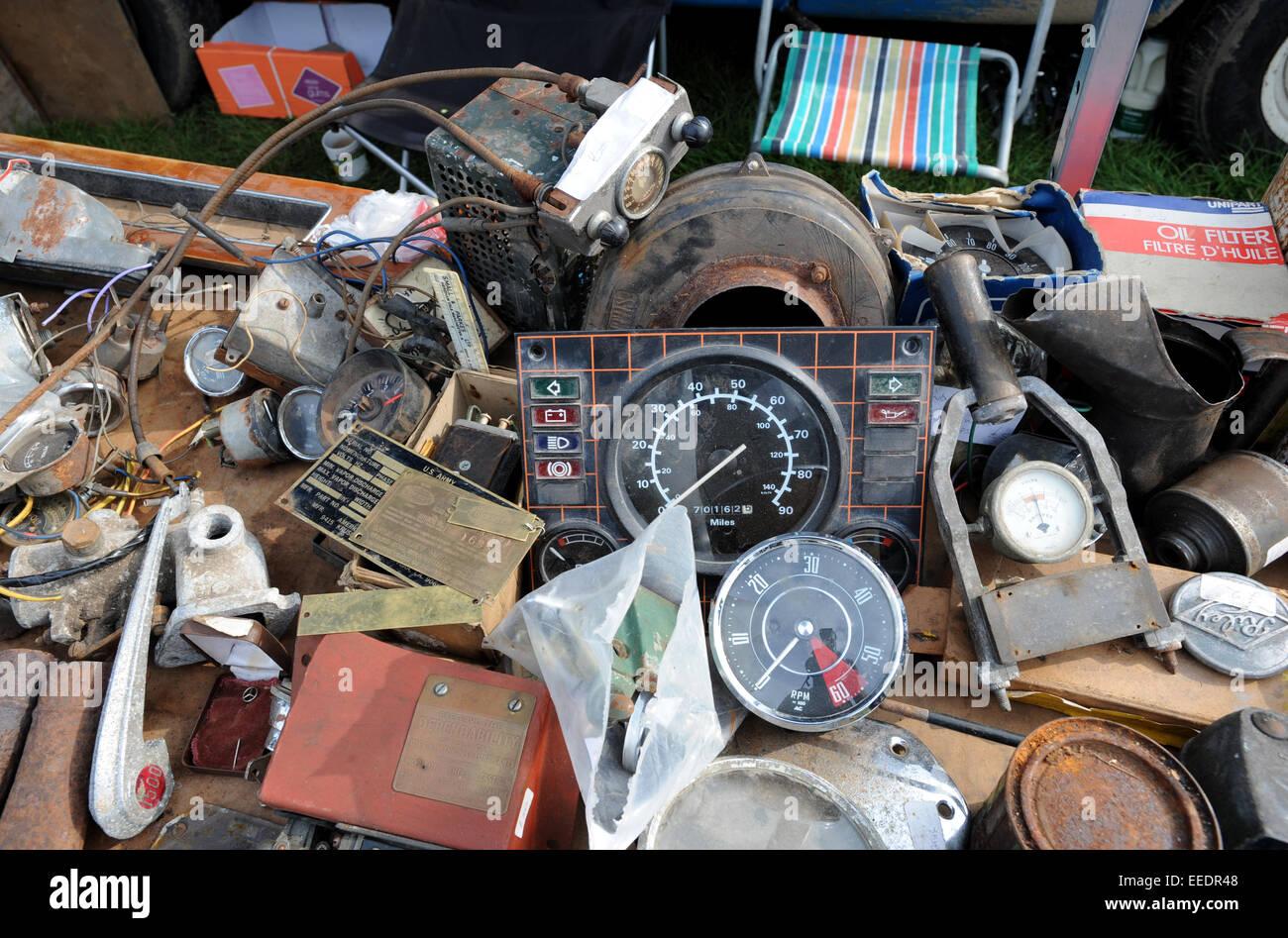 Beaulieu Autojumble Massive Classic Car Parts Swap Meet And