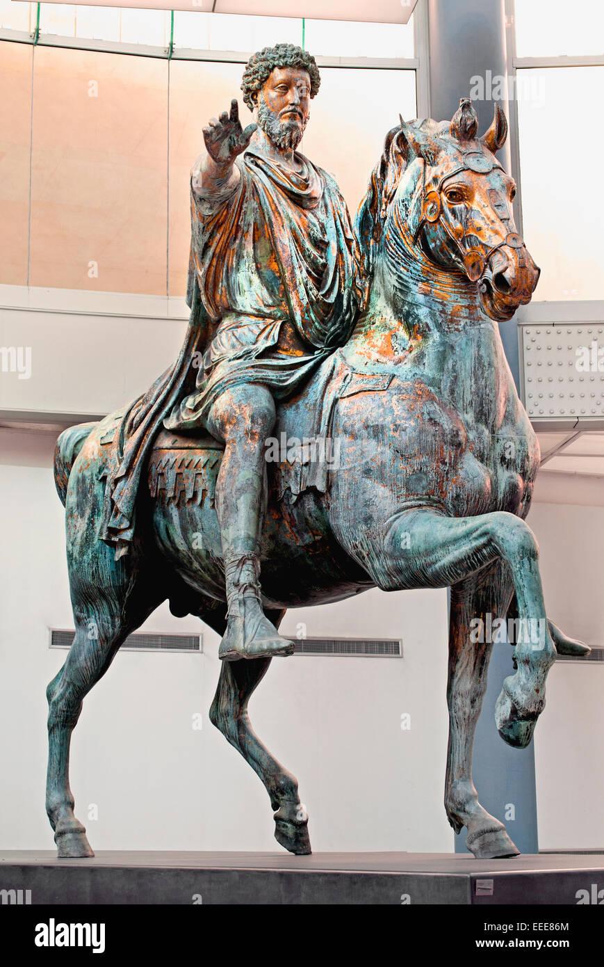 equestrian statue of marcus aurelius marco aurelio 161