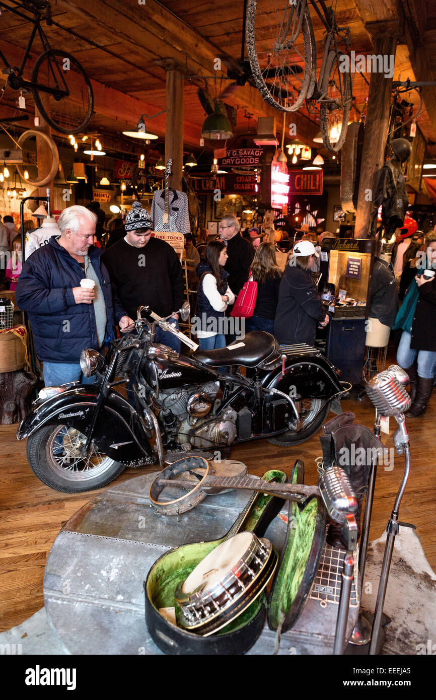 Sell My Motorcycle >> Mike Wolfe's Antique Archaeology American Picker store at ...