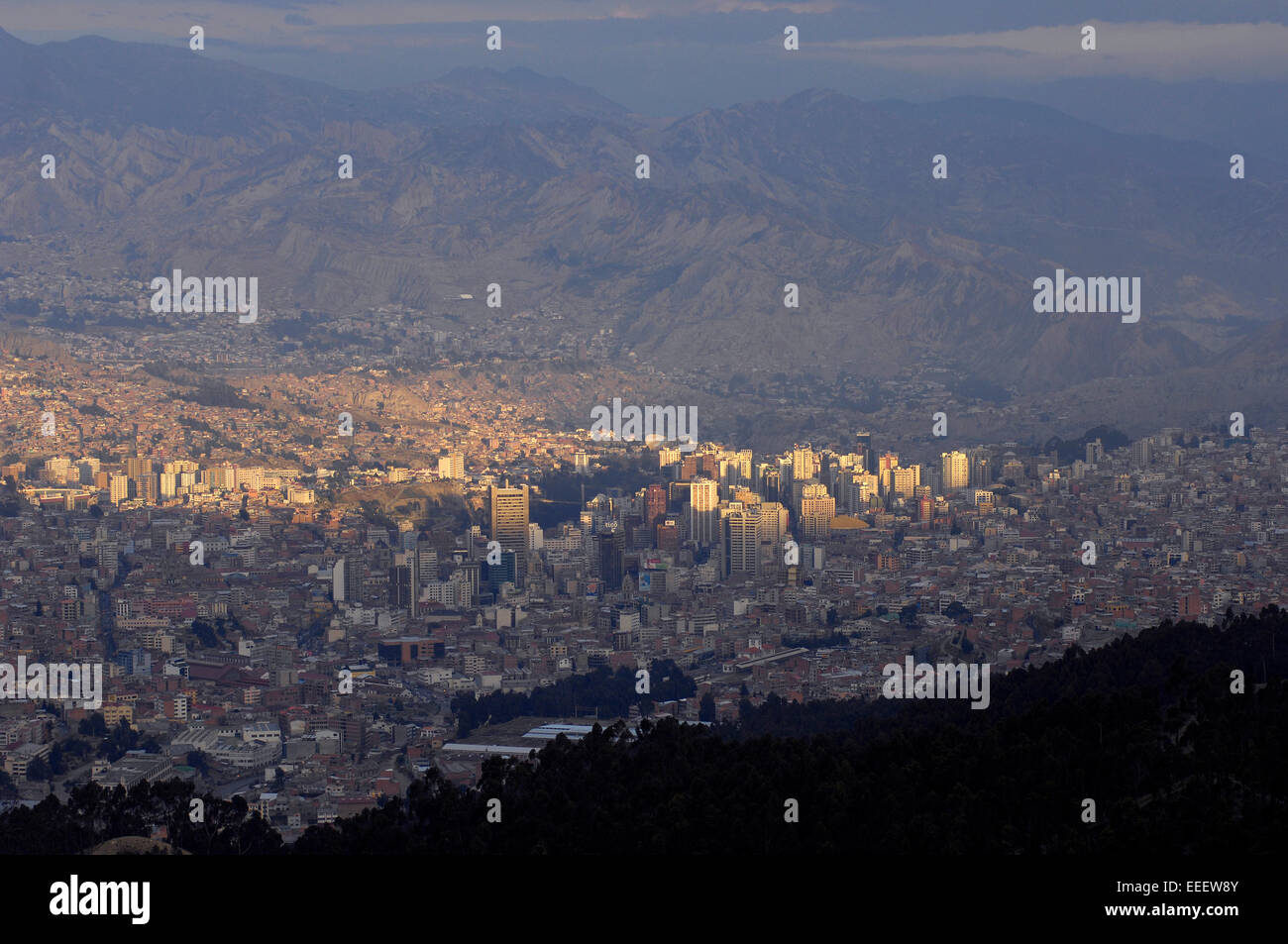The City Of La Paz Bolivia Sits An An Elevation Of Feet - Elevation in feet above sea level