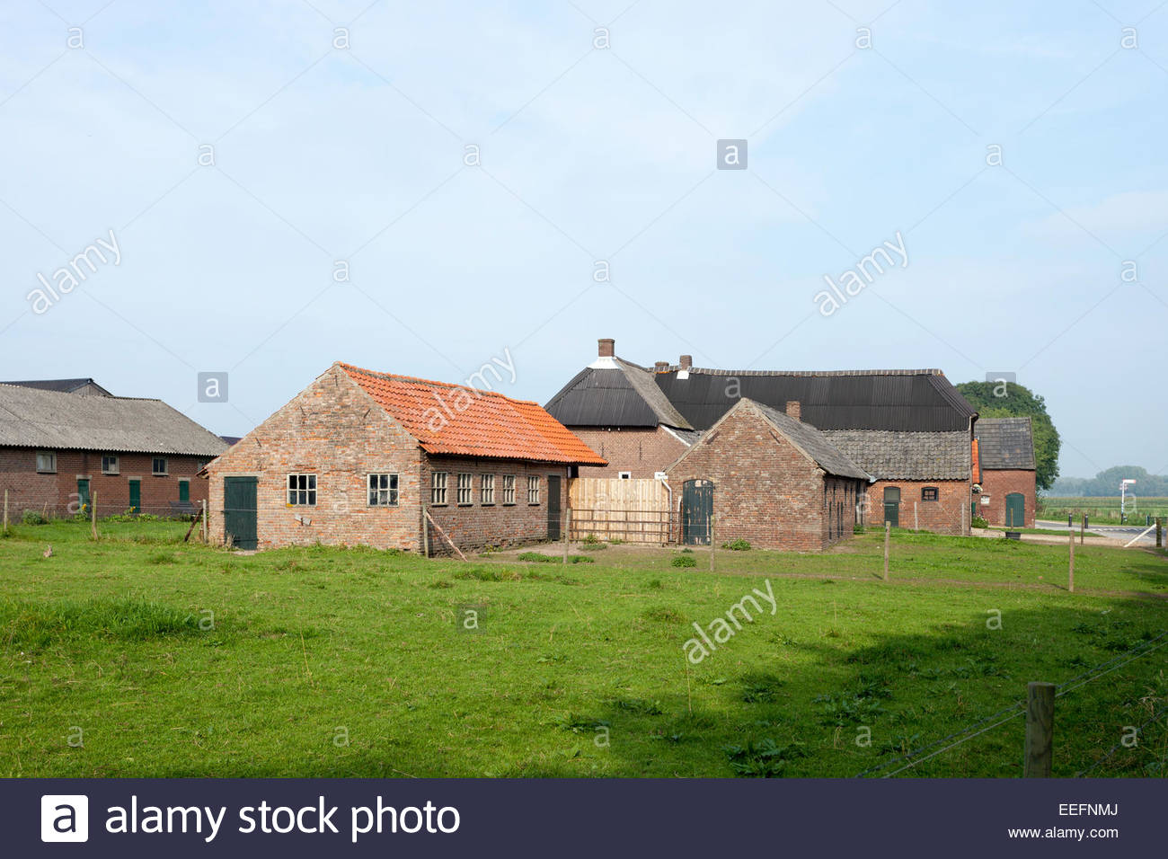 Farm near hernen in the netherlands in typical gelderse for Farm house netherlands