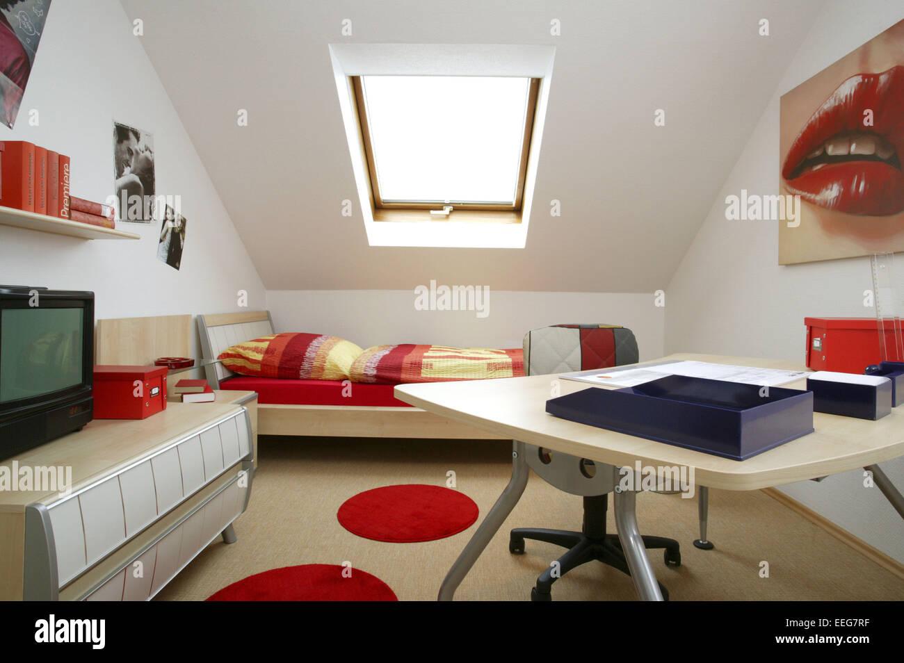 Kinderzimmer jugendzimmer wohnen innenaufnahme inneneinrichtung wohnung wohnraum einrichtung moebel mobiliar modern interieur st