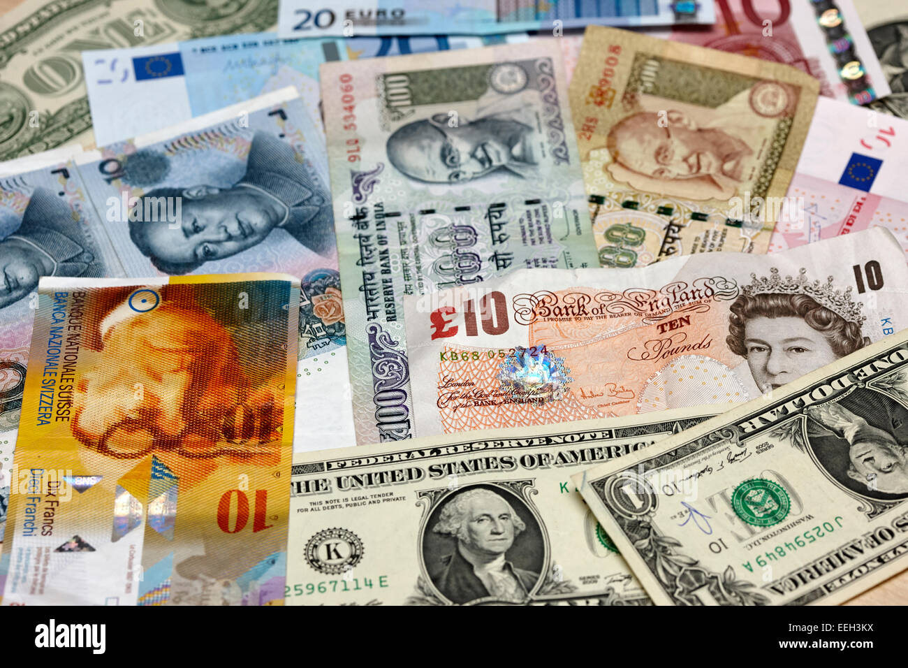 various world currencies euro us dollars chinese yuan indian stock photo royalty free image. Black Bedroom Furniture Sets. Home Design Ideas