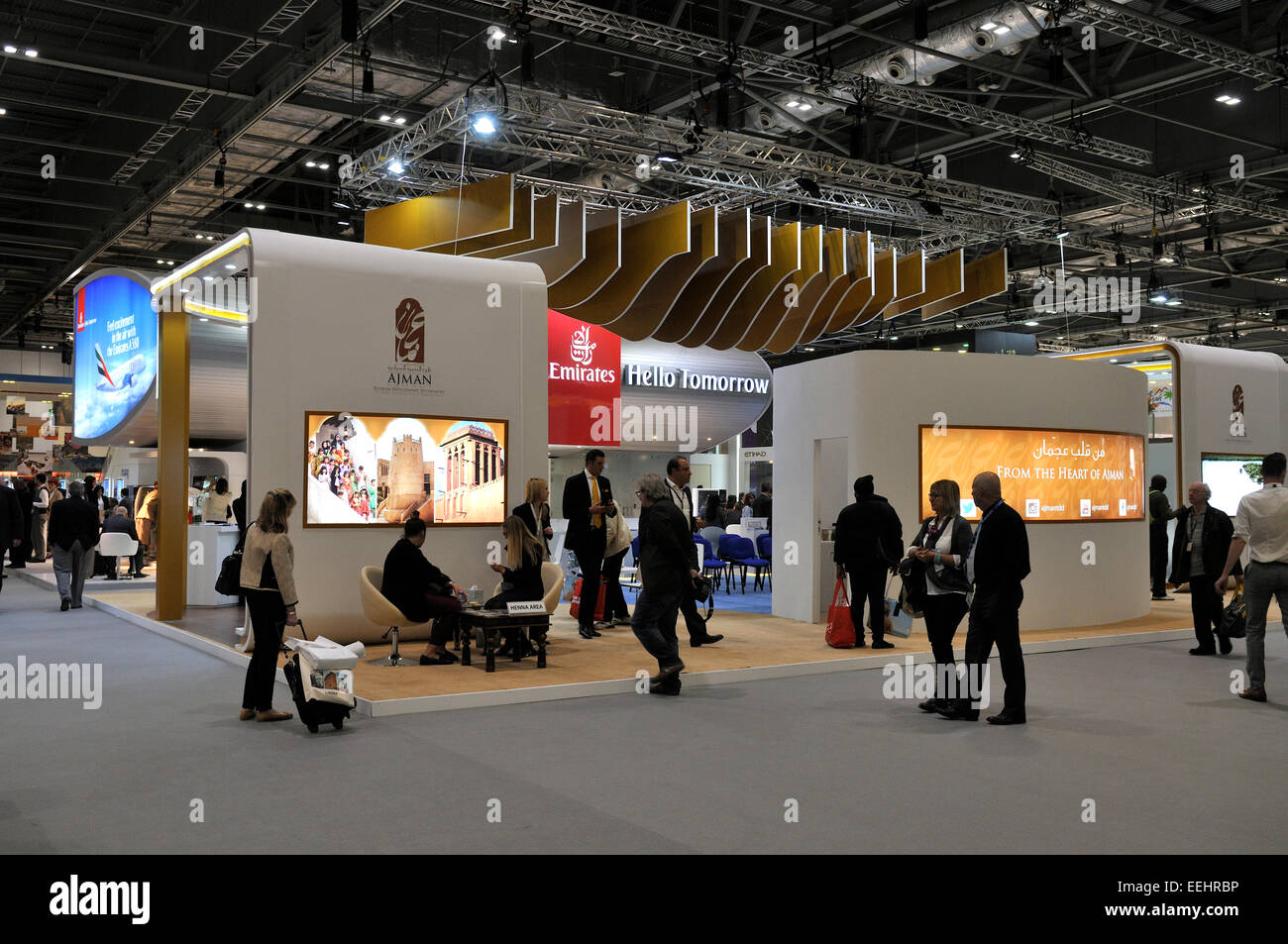 Exhibition Booth London : Exhibition stand at excel london world travel mart wtm