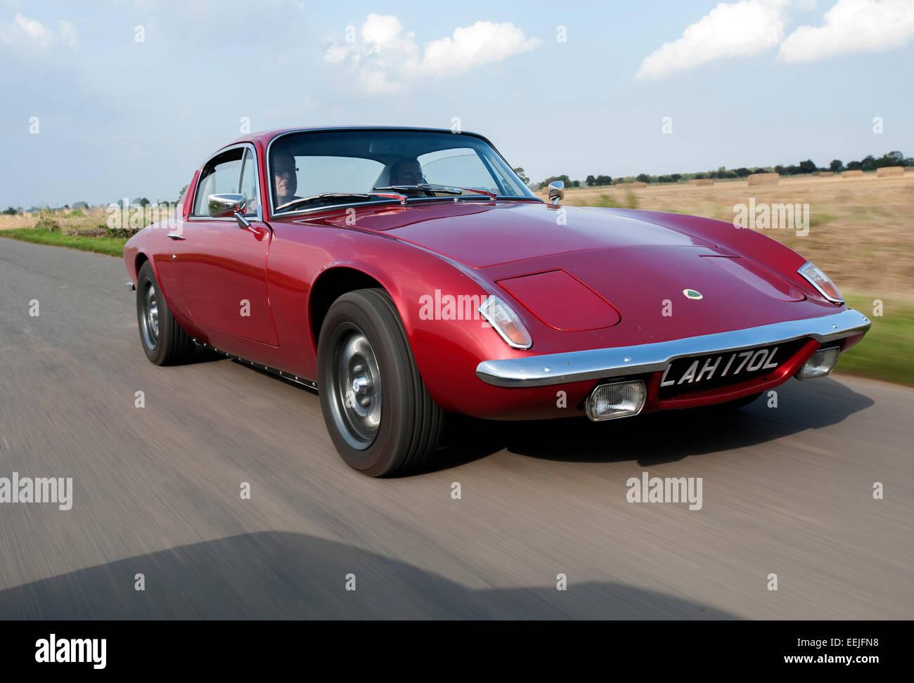 Lotus Elan classic British sports car Stock Photo, Royalty ...  Lotus Elan clas...