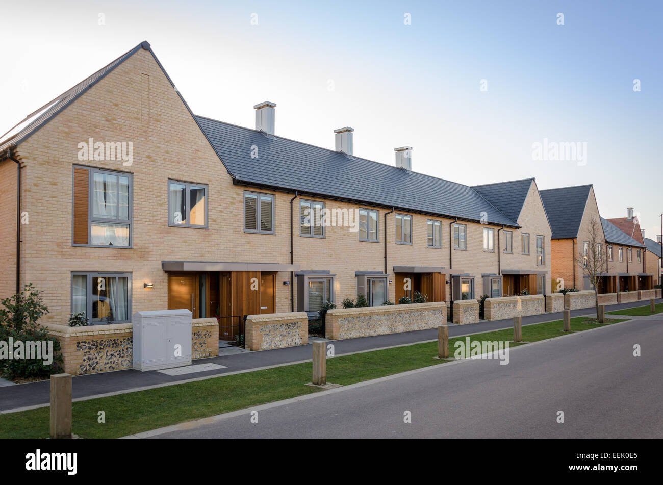 New Housing Development : Trumpington meadows new housing development