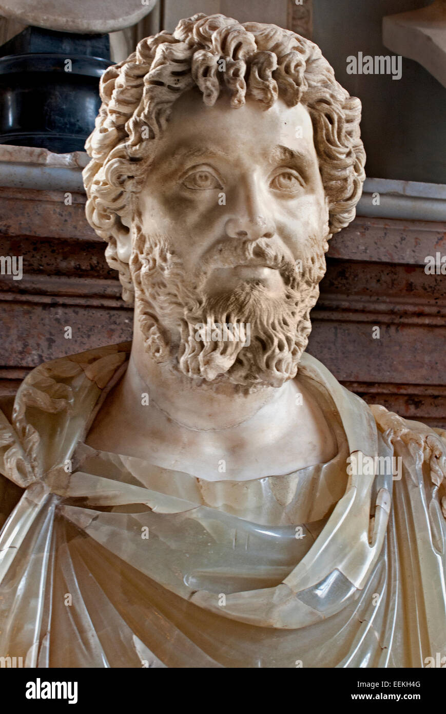 lucius septimius severus Severus (lucius septimius severus, 11 april 145 ad – 4 february 211) was roman emperor from 193 ad to 211 severus was born in leptis magna in the province of africa severus was an born an african, and some portraits show him as such.