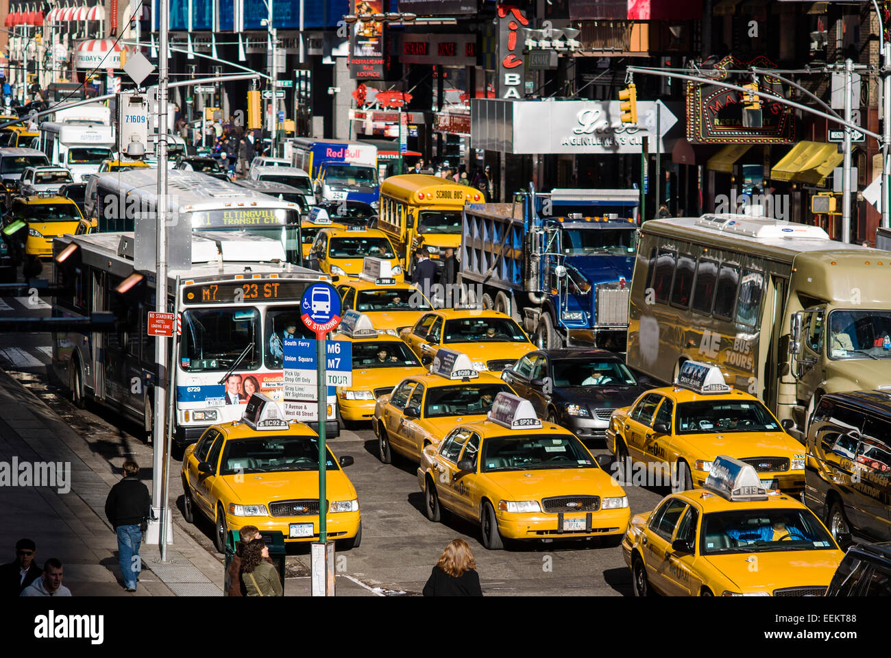 Webcam New York Time Square 8