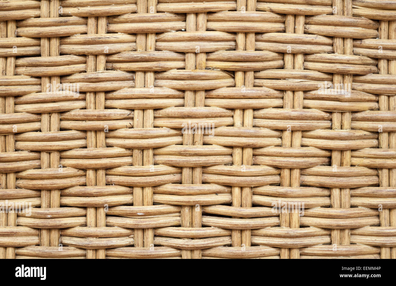 Old Wicker Furniture Wall. Closeup Background Photo Texture