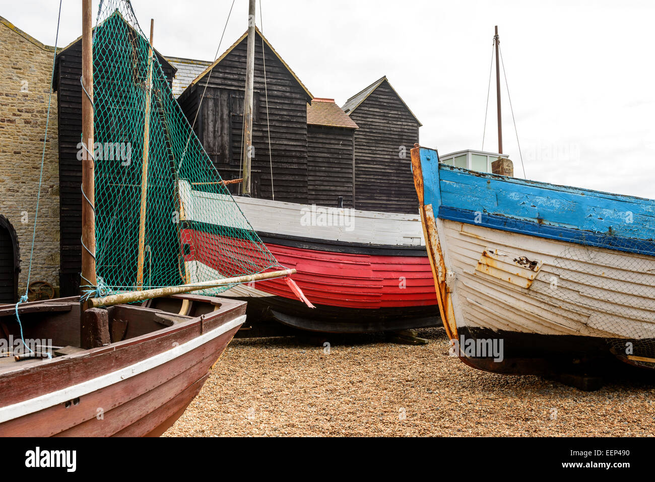 Beach Huts Hastings Stock Images - Download 79 Royalty ...