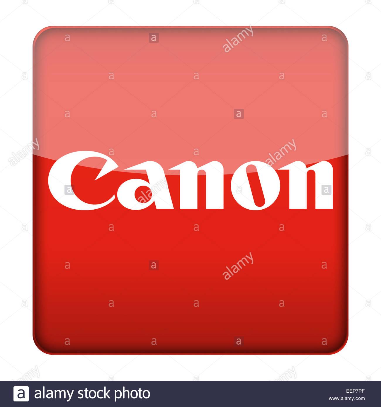 canon logo icon stock photo royalty free image 77935719