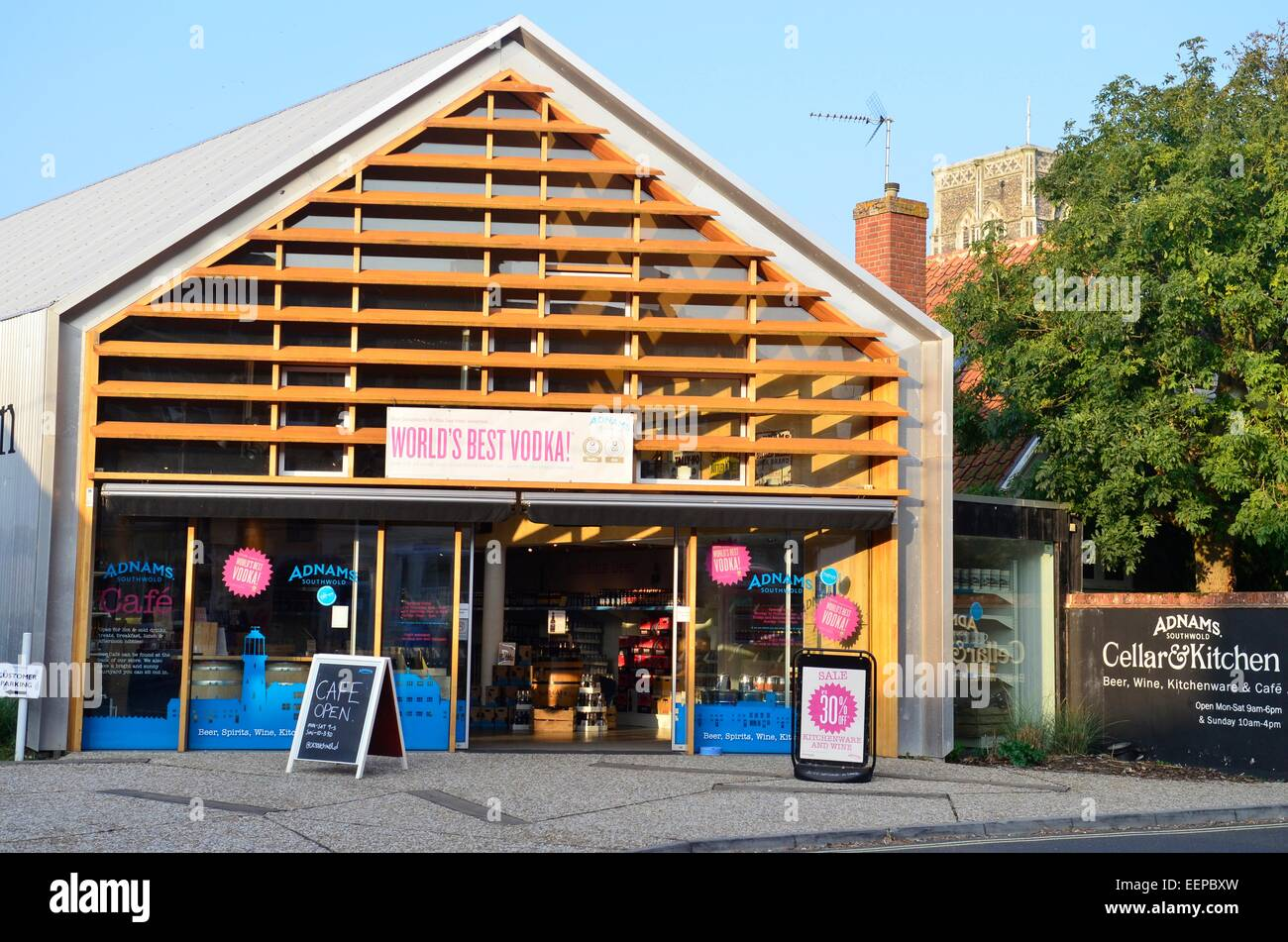 adnams brewery distillery gift shop in southwold suffolk stock photo royalty free image. Black Bedroom Furniture Sets. Home Design Ideas