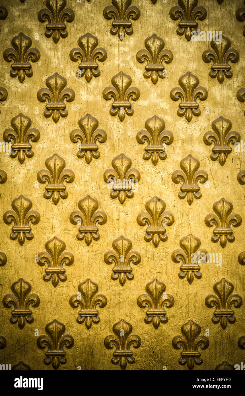 gold fleurdelis background stock photo royalty free