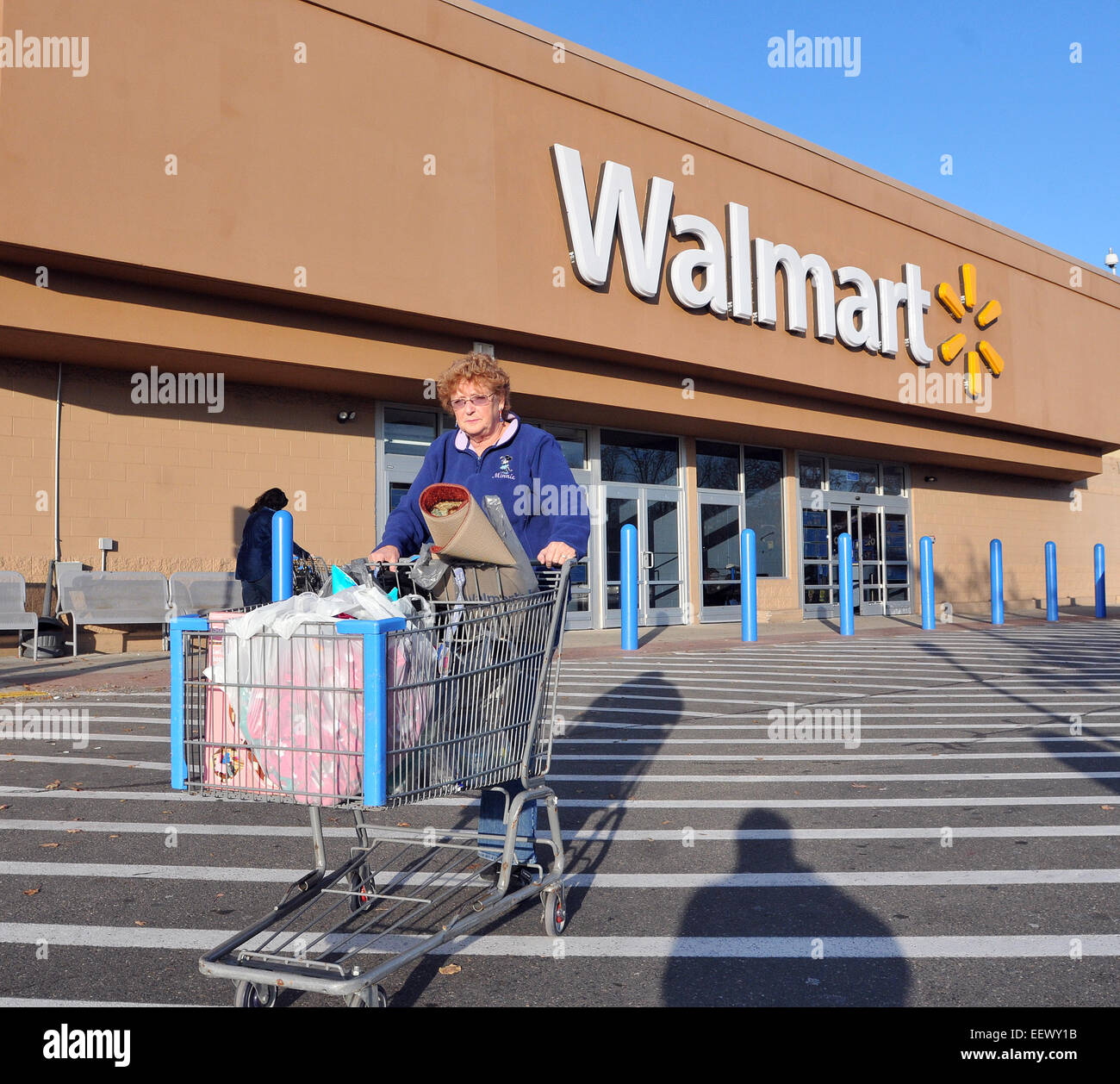 branford ct usa vivian baker heads out of the branford walmart branford ct usa vivian baker heads out of the branford walmart walmart opens tomorrow